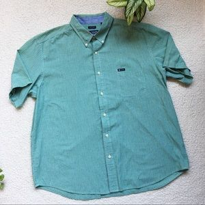 Chaps Button Front Shirt Size 2XL